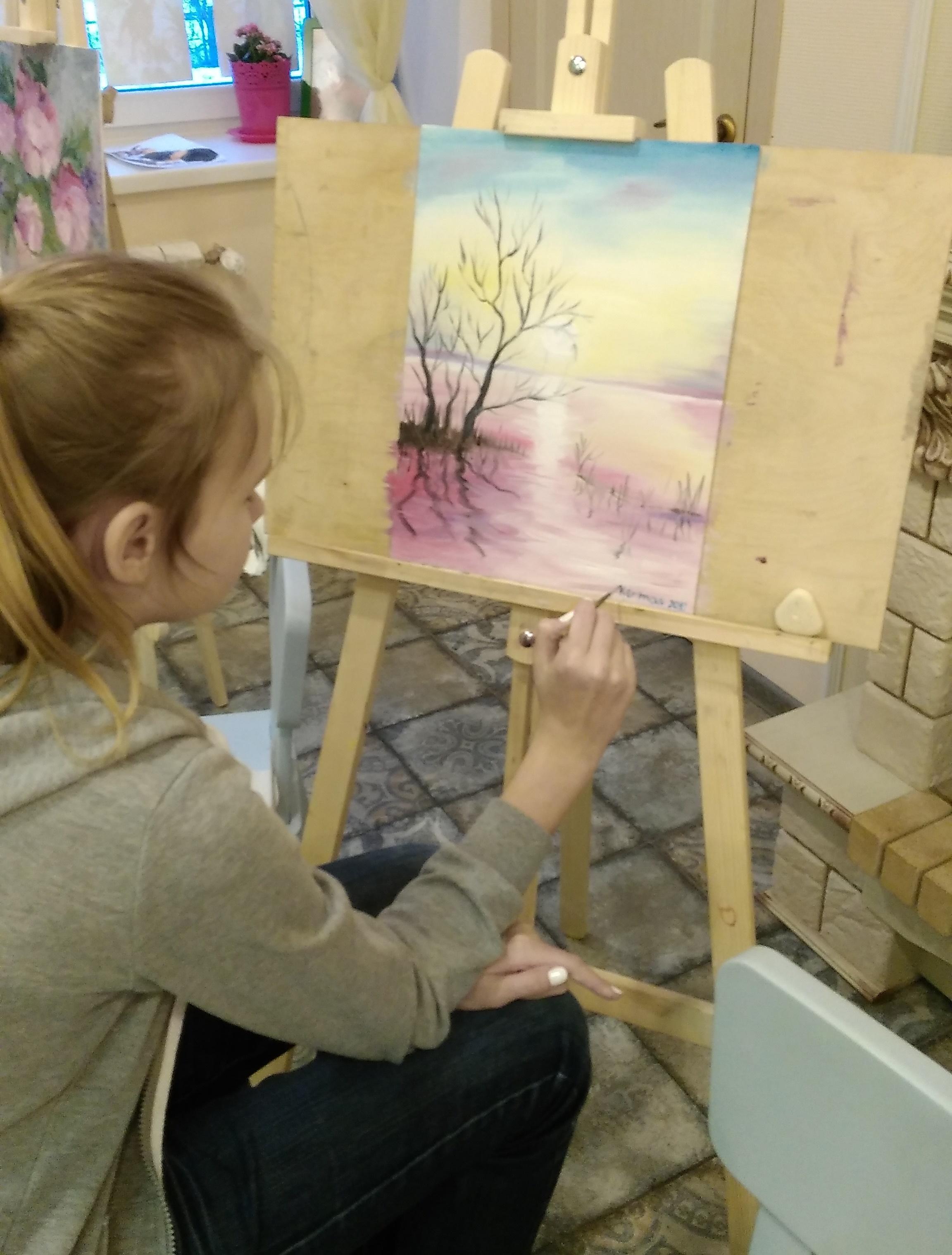 «Монотипия» - мастер-класс обучения живописи и прикладным ...
